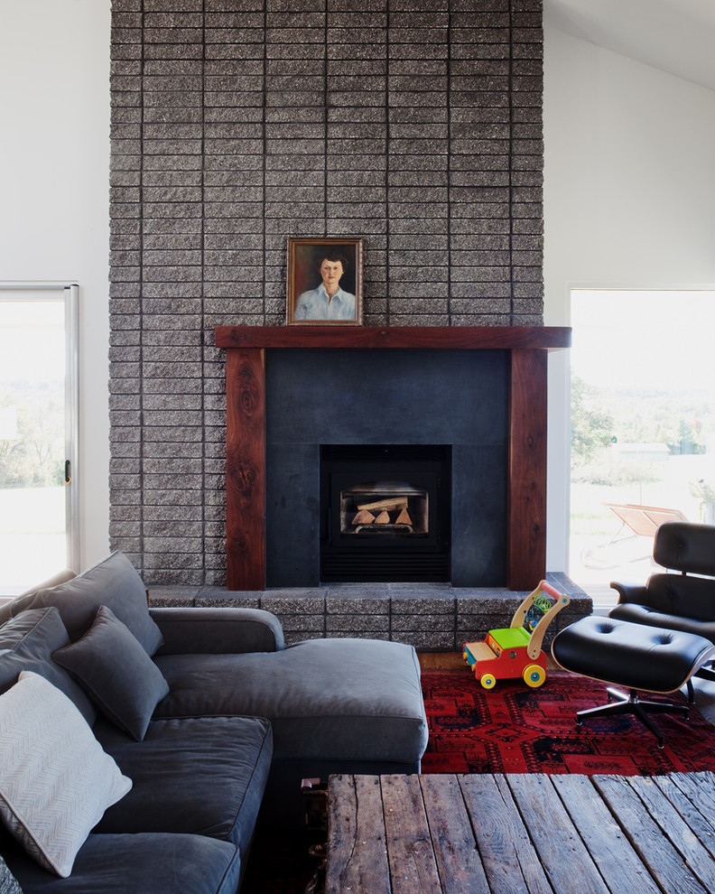 Example of a 1960s living room design in Kansas City