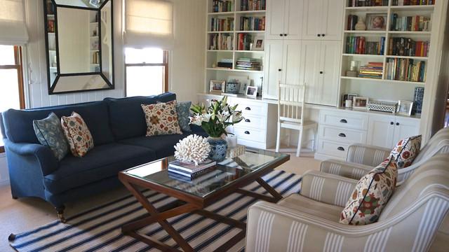 Porchlight Interiors eclectic-living-room