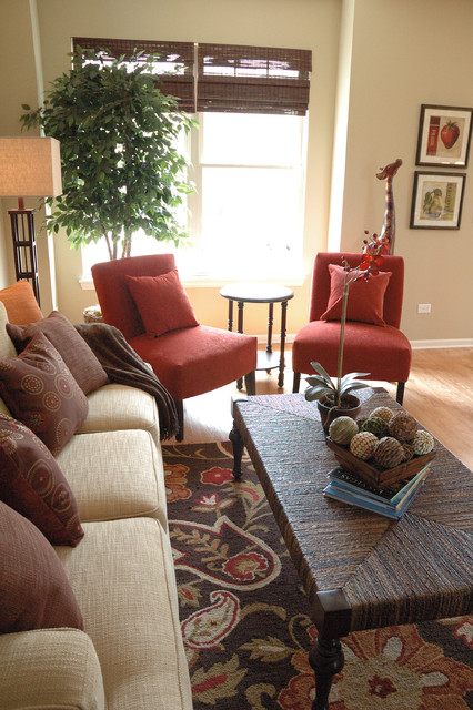 Port Clinton Townhouse traditional-living-room