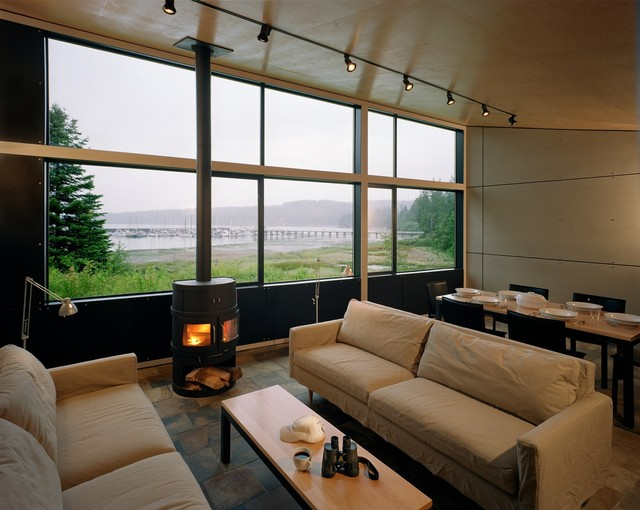 Modern Cabin Bedding: Port Hadlock Cabin