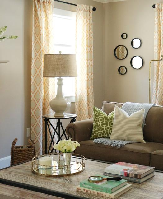 Houzz Farmhouse Living Room: Port Washington