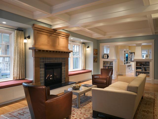 Porter Street Living Room Craftsman DC