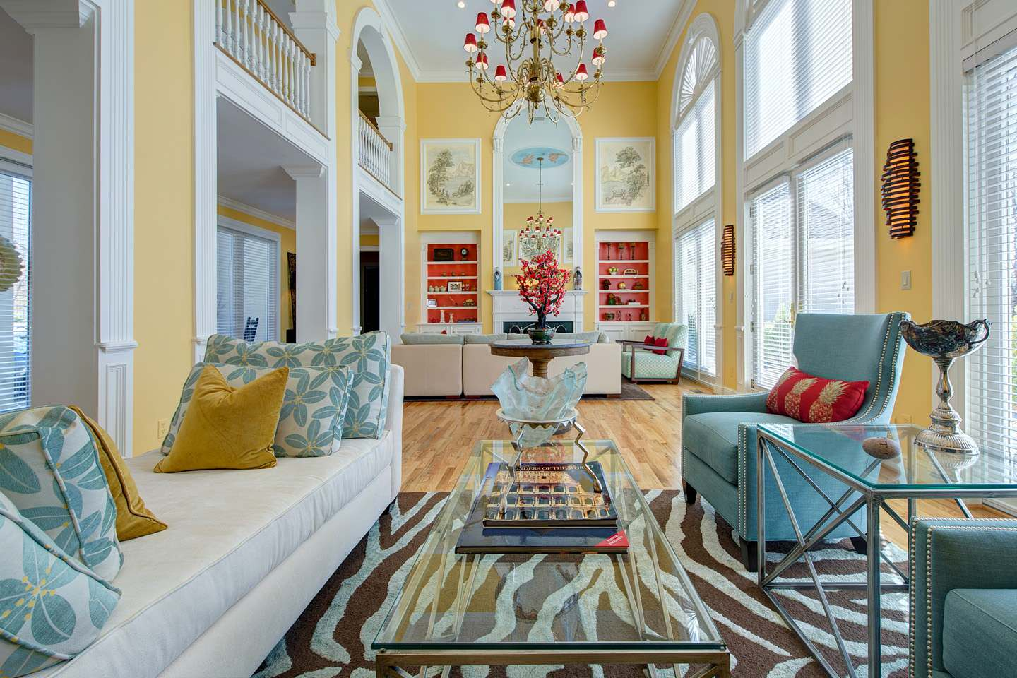 Yellow And Turquoise Houzz