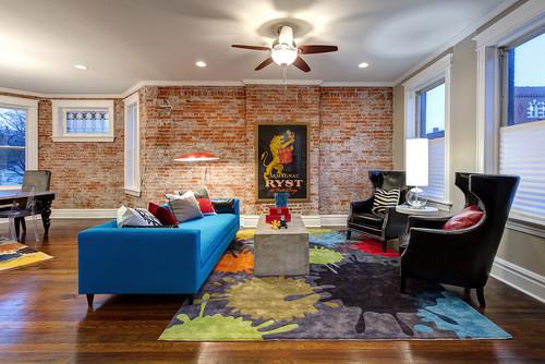 interior brick paint colors