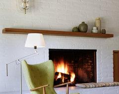 Portola Valley midcentury-living-room