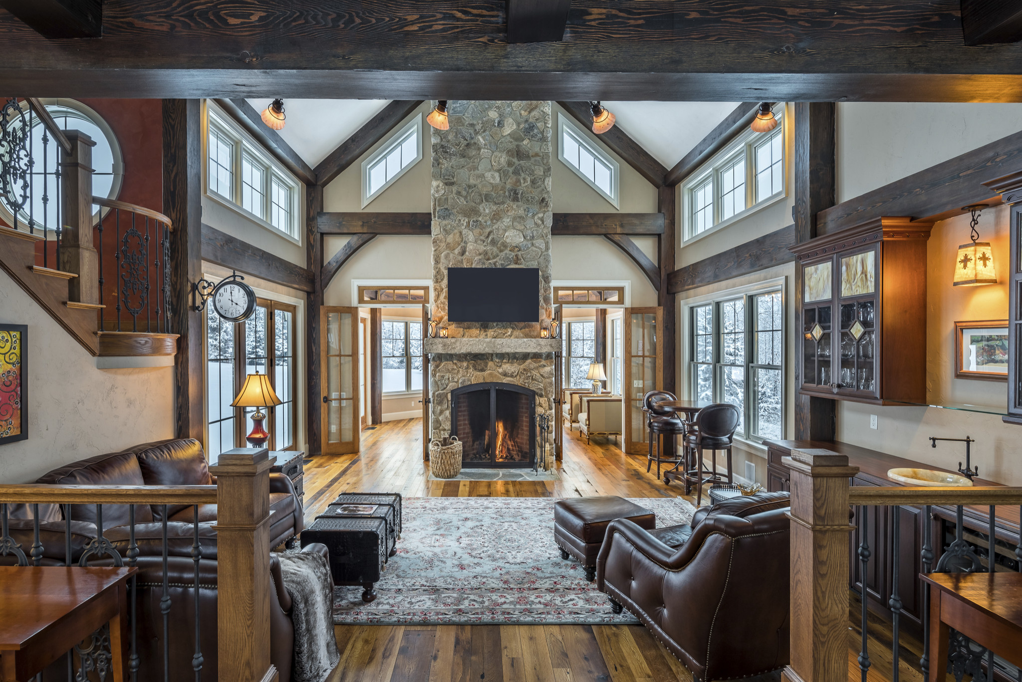 Post and Beam Homeowners Dream