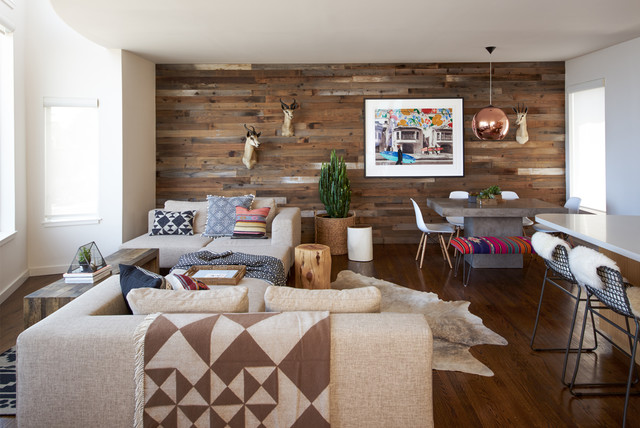 Exceptionnel Southwest Open Concept And Formal Living Room Photo In San Francisco