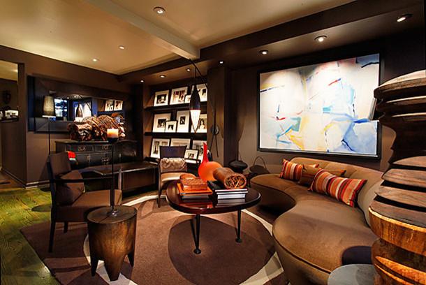 Potrero Hill Home   LED Lighting Upgrade Contemporary Living Room