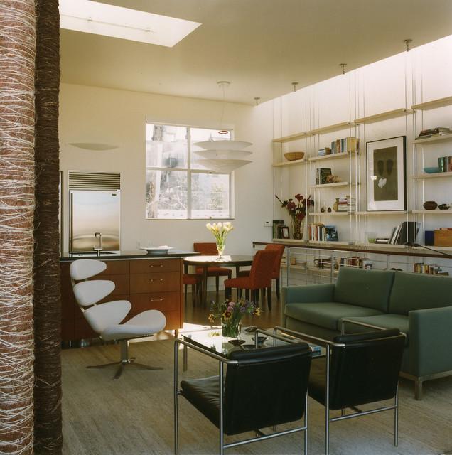 Potrero Hill Residence contemporary-living-room