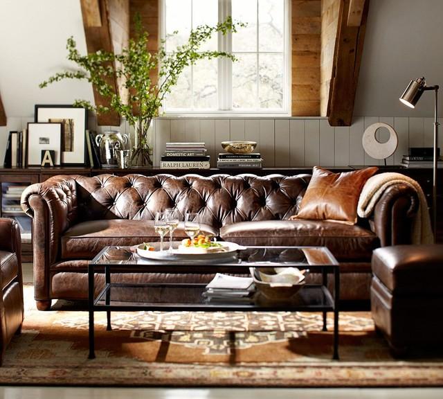 Pottery Barn - Traditional - Living Room - San Francisco ...