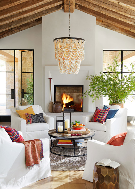 Pottery Barn contemporary-living-room