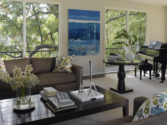Practical Modern Modern Living Room Minneapolis By
