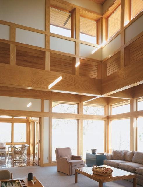Prairie Home Living Room By Sarah Susanka Faia