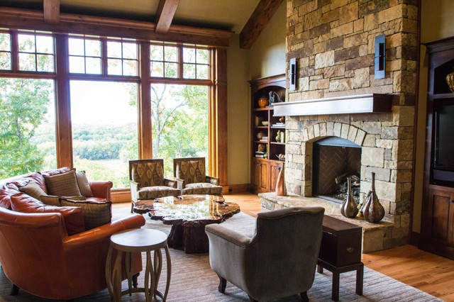 Prairie style in reserve for Prairie style fireplace