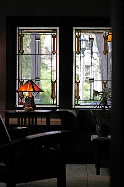 Prairie Style Light Screens