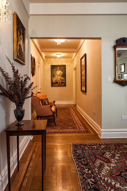 Pre War Apartment Traditional Living Room New York