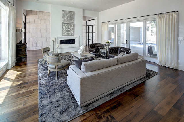 Premier Partners Home of Distinction contemporary-living-room