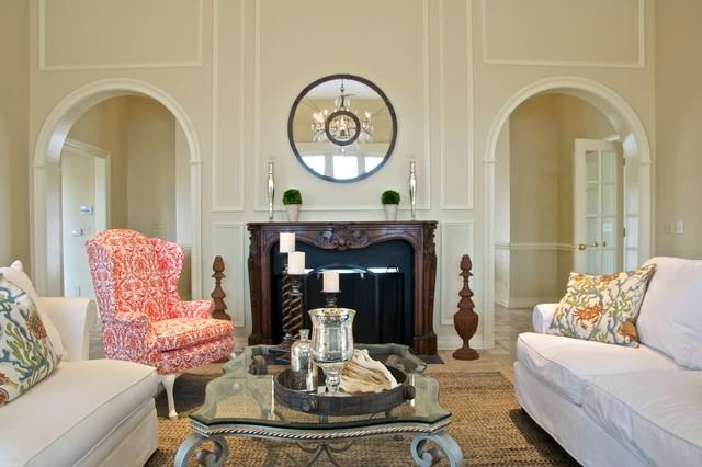 Presdiential Home Staging in Deerwood, Jacksonville, FL traditional-living-room