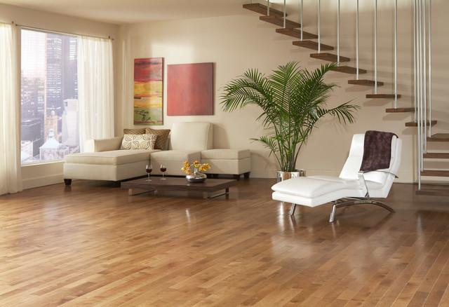 Preverco Hardwood Floor Yellow Birch Santa Fe Colour Contemporary