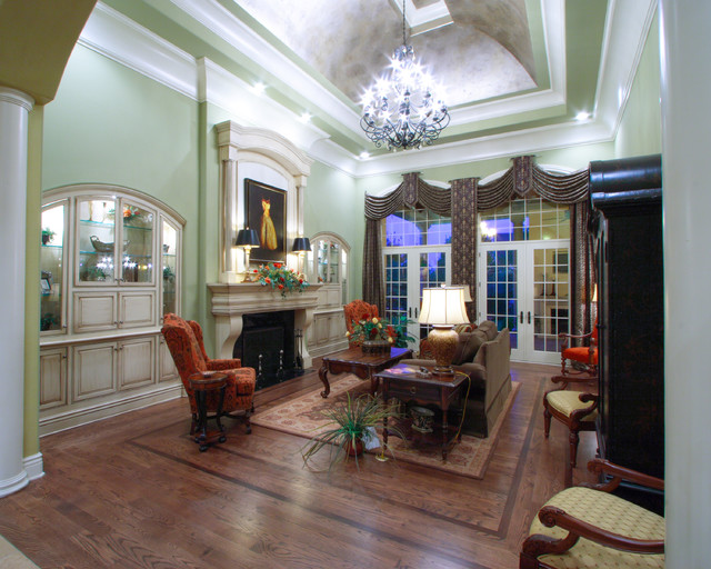 Previously Completed Projects traditional-living-room