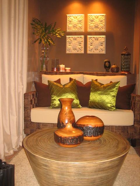 Priest's Vestry tropical-living-room