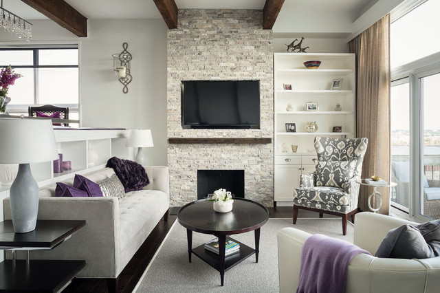 prince building contemporary living room boston by