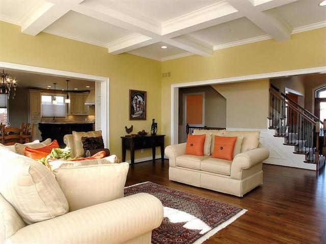 Princeton V traditional-living-room