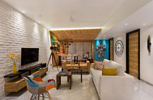 20 New Indian Living Rooms on Houzz by India\'s Top Design Firms