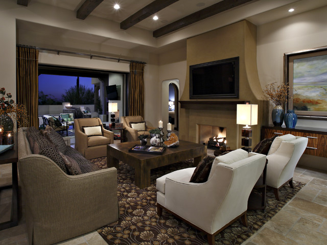 Privada residence soft contemporary contemporary for Soft modern interior design
