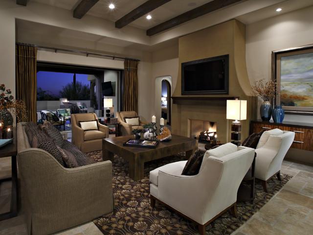 Exceptional Privada Residence   Soft Contemporary Contemporary Living Room