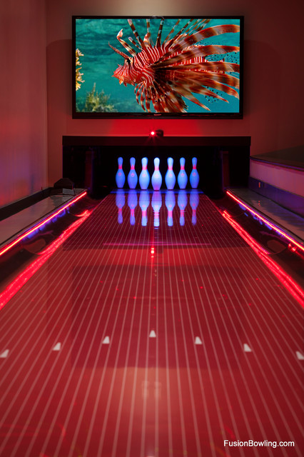 Private Bowling Alley For Hip Hop Music Mogul Modern