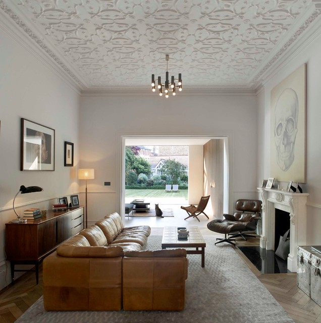 Private Home In Chiswick London Transitional Living