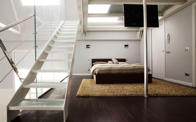 Private Loft Milano living-room