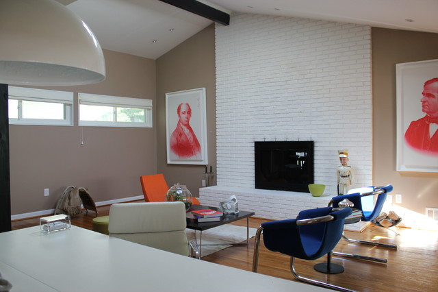 Private Maryland Residence contemporary-living-room