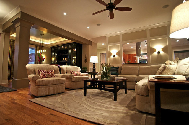 Private Residence contemporary-living-room