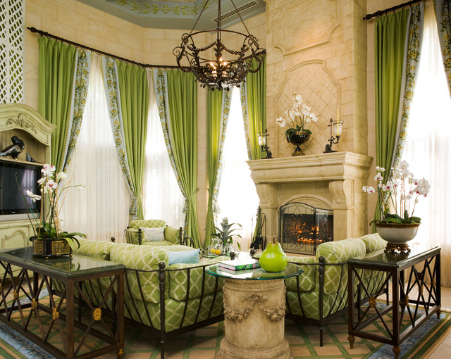 Private residence boca raton fl traditional living - Living room movie theater boca raton ...