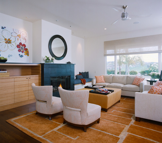 private residence california contemporary living room san