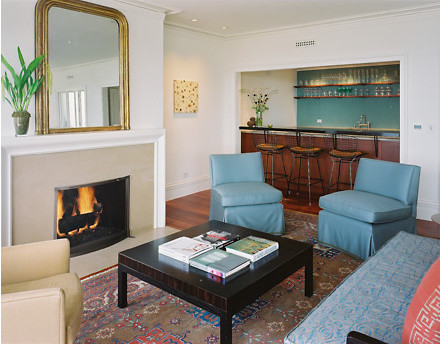Ryan Associates - Remodels / Additions - Pacific Heights Conversion modern living room