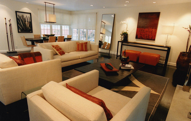 Private Residence in Los Angeles contemporary-living-room