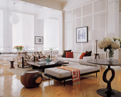 Great Private Residence In Paris, France Eclectic Living Room