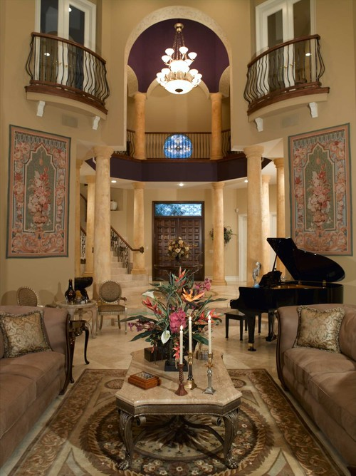 Nice Mediterranean Living Room By Fort Lauderdale Interior Designers U0026  Decorators Jennifer Lang Designs, Inc. Part 30