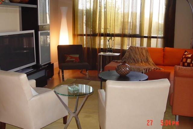 Private Residence modern-living-room