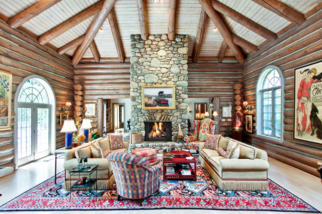 Private Residence, Meadowbrook, PA traditional-living-room
