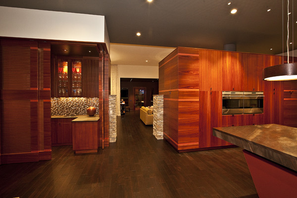 Private residence / Parade of homes modern-living-room