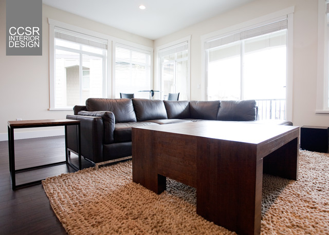 Private residence simple furniture selection for Modern living room furniture vancouver