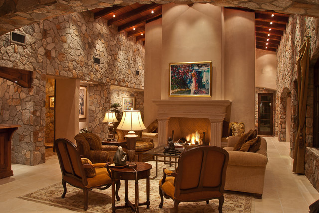Private Residence Tucson Arizona Traditional Living