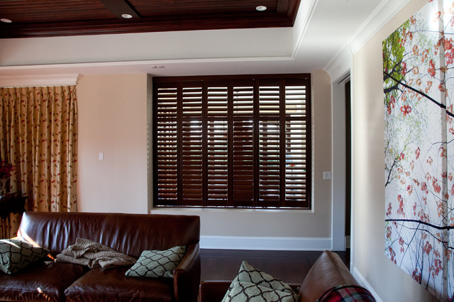 Private Residence Window Treatments