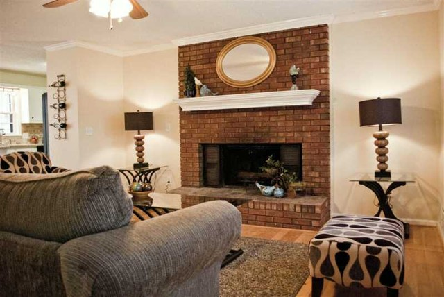 Professional Staging Work by Amy Powers traditional-living-room