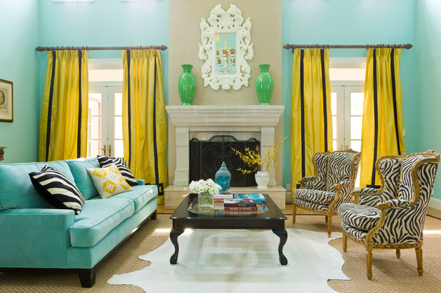 Project Colorful Eclectic Eclectic Living Room Dc
