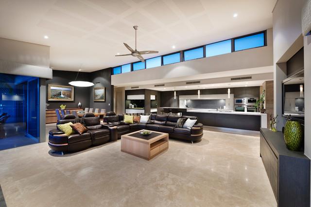 Project -  Darlington contemporary-living-room
